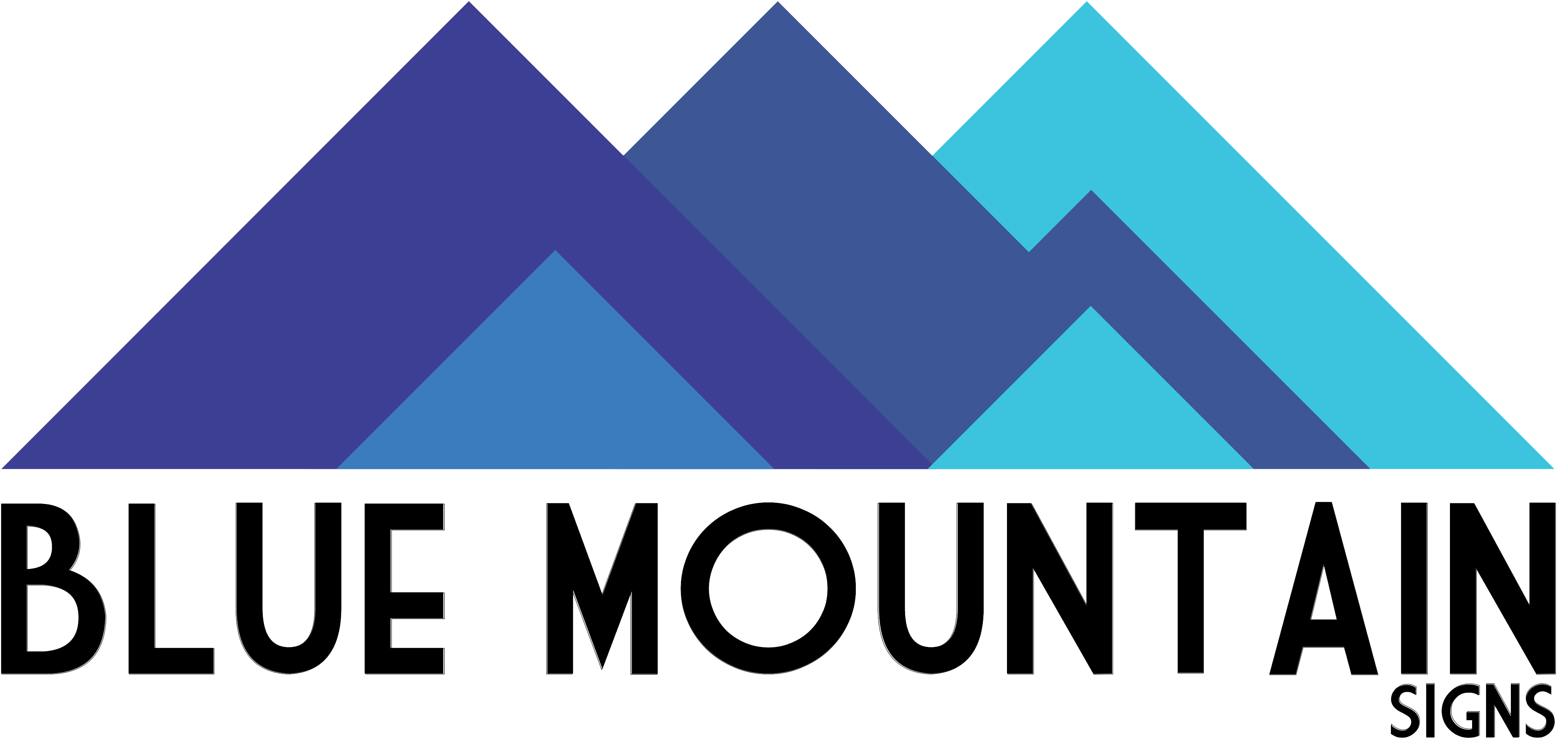 Blue Mountain Sign - About us Logo