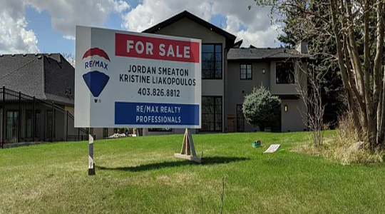 Blue Mountain Sign - Real Estate Sign