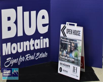 Blue Mountain Sign-Sandwich Boards