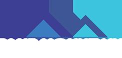 Blue Mountain Signs - White Logo