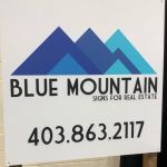 Blue Mountain Signs